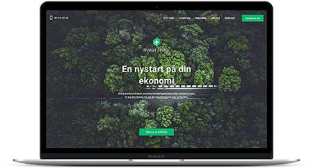 NyStart Finans erbjuder omstartslån utan säkerhet